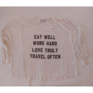 Wildfox Eat Well Sweater